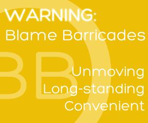 Blame Barricades - www.lifestyleelements.com.au