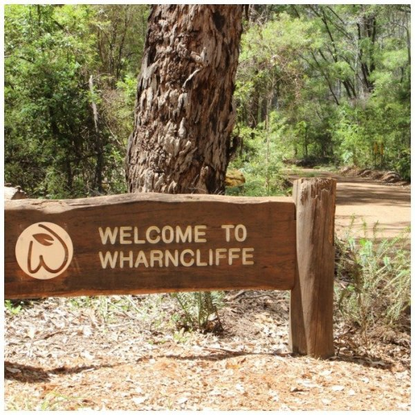 Reasons why camping is good for you, pic of Wharncliffe Mill sign.