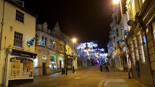 Merry Christmas Bideford Devon
