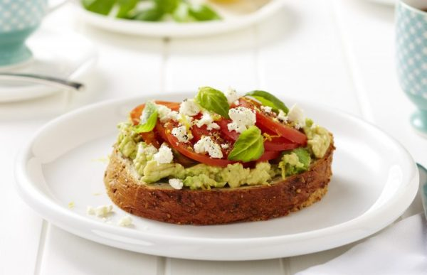 How to incorporate dairy into your daily diet, pic of avocadofetatoast