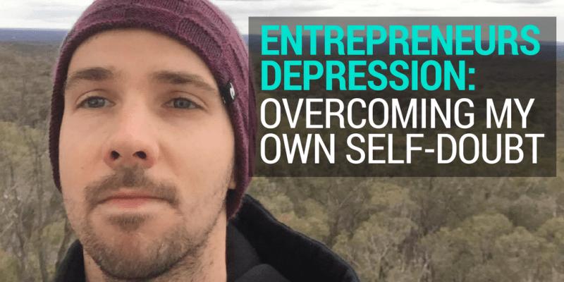 Entrepreneurs depression image