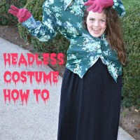 #write31days - Headless Costume How To