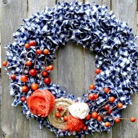 Simple Fall Wreath Tutorial