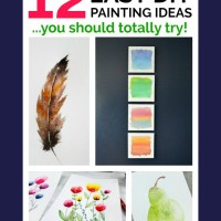 Easy Painting Ideas You Can DIY
