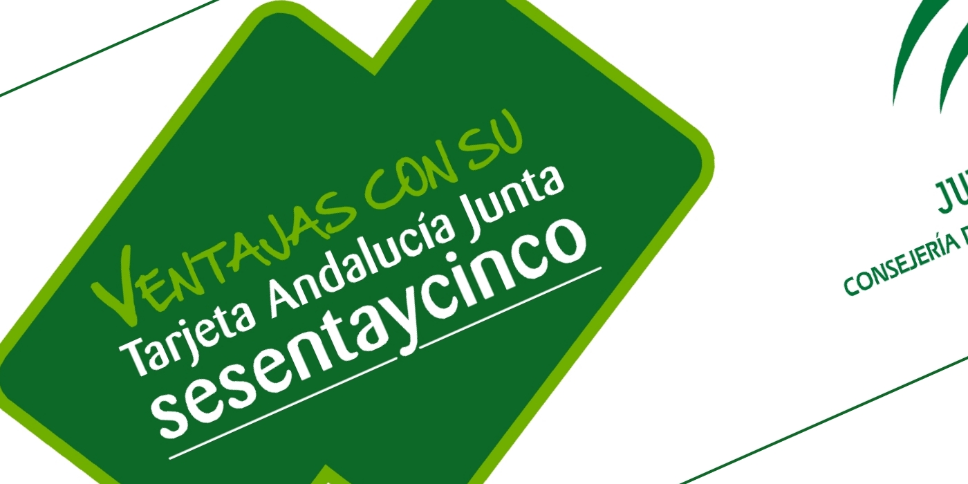 Discount Schemes for Retirees in Andalucia - Tarjeta Sesenta y Cinco