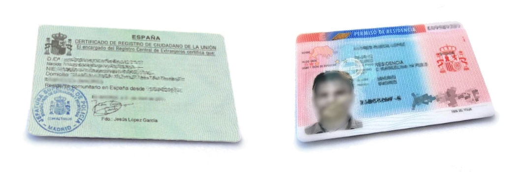 Spanish Residency Certificate