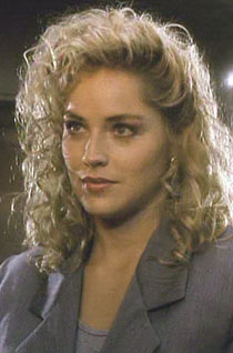Top 10 Celebrity Hair Icons Number 7 Sharon Stone