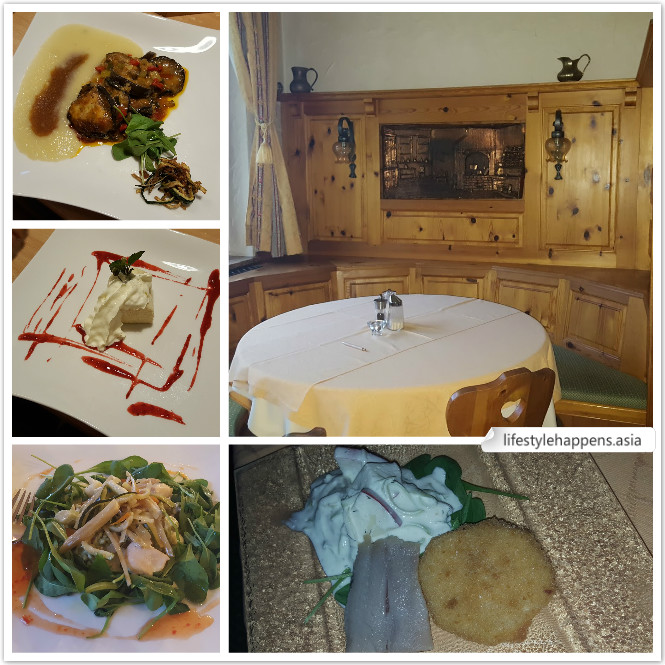 Organic meal prepared by chef from Italy and serve at cozy and well decorated dining room