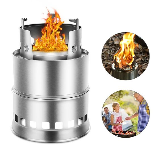 wood fueled camping stove