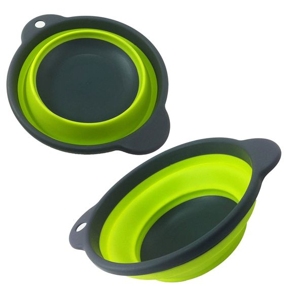 collapsible camping bowl