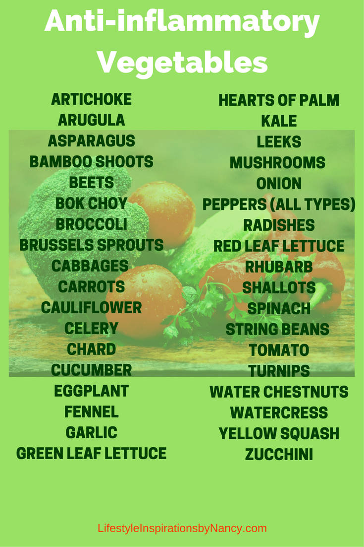 anti-inflammatory vegetables