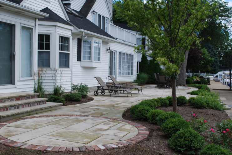 Campbell patio renovation, after image