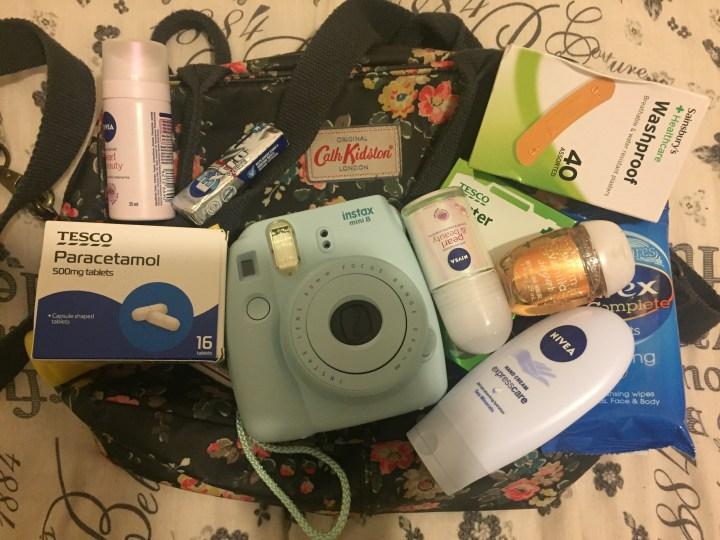 Packing my Disney park essentials!!
