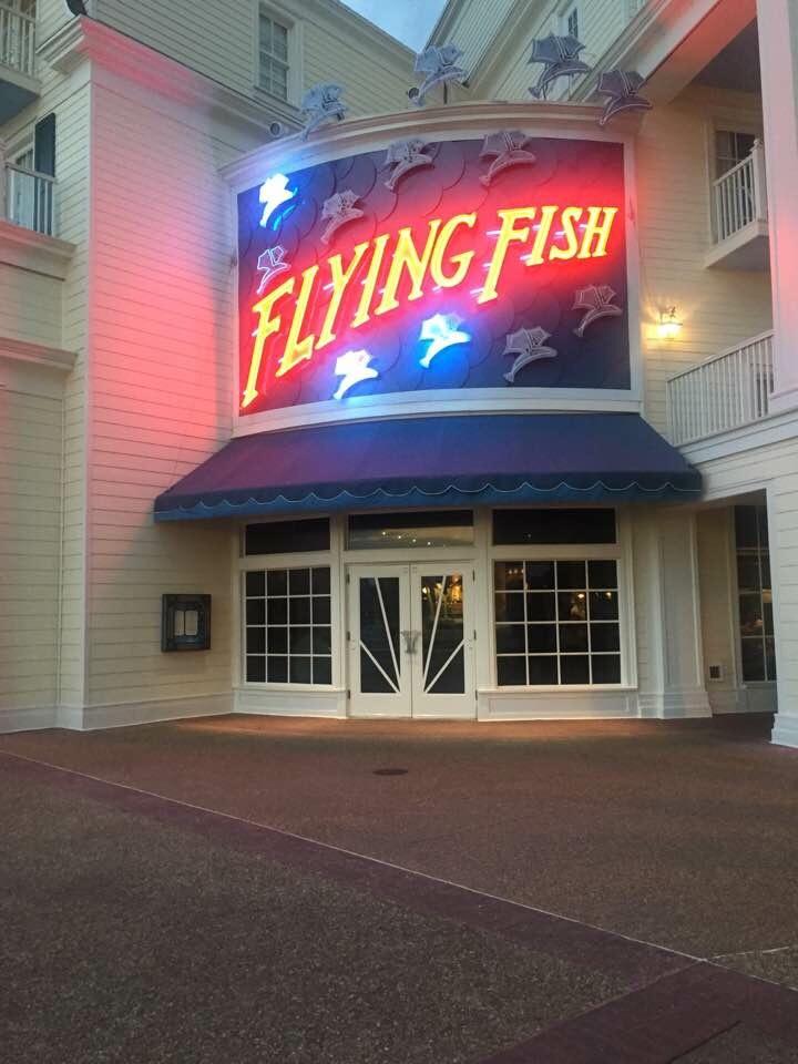 Dinner at Flying Fish