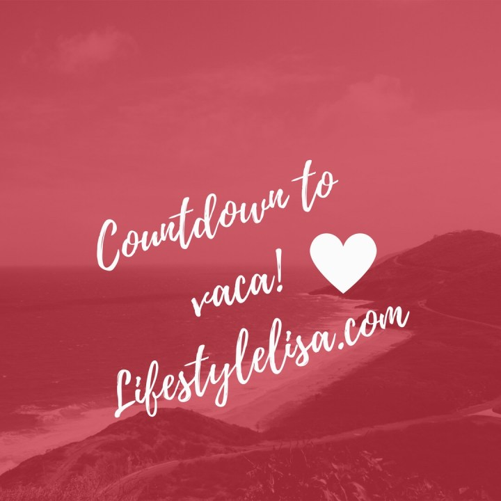 Countdown to Vaca!!