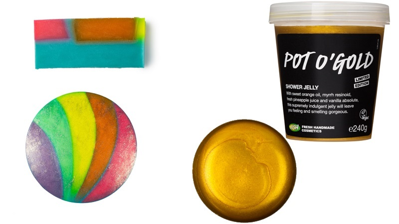 Lush lente somewhere over the rainbow Pot O' Gold