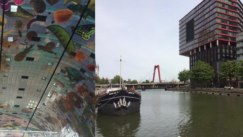 Rotterdam Markthal Willemsbrug