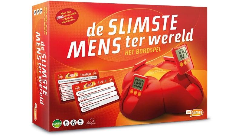De Slimste Mens ter Wereld - het bordspel