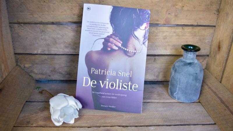 De violiste Patricia Snel