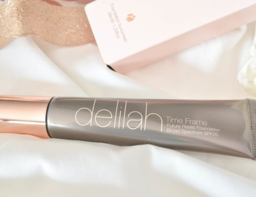 delilah cosmetics Time Frame Future Resist Foundation