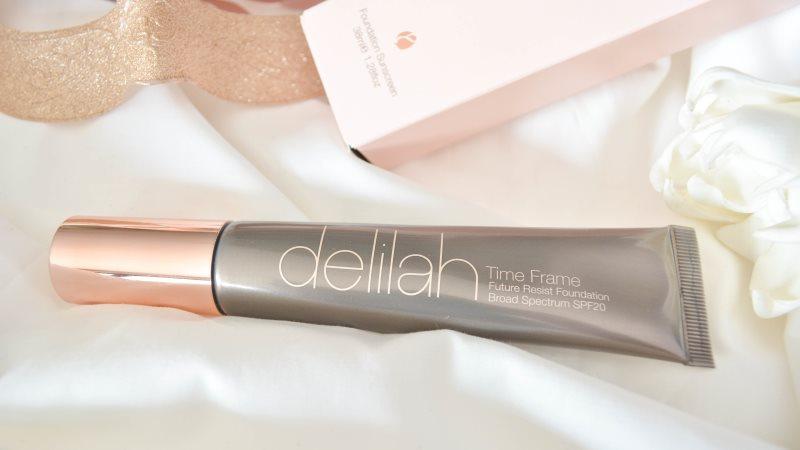 delilah cosmetics Time Frame Future Resist Foundation
