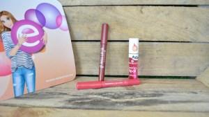 essence prettifying lip oil glossy stick velvet stick