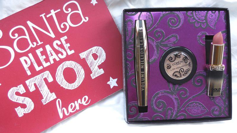 L'Oréal Paris Extravaganza Christmas Giftboxes