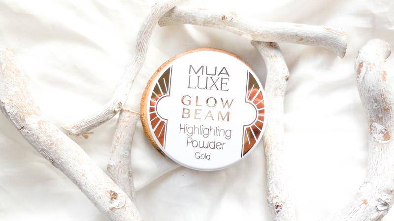 MUA Luxe Glow Beam Highlighting Powder
