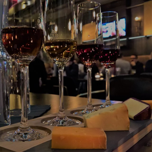 Cheese and Port Flight