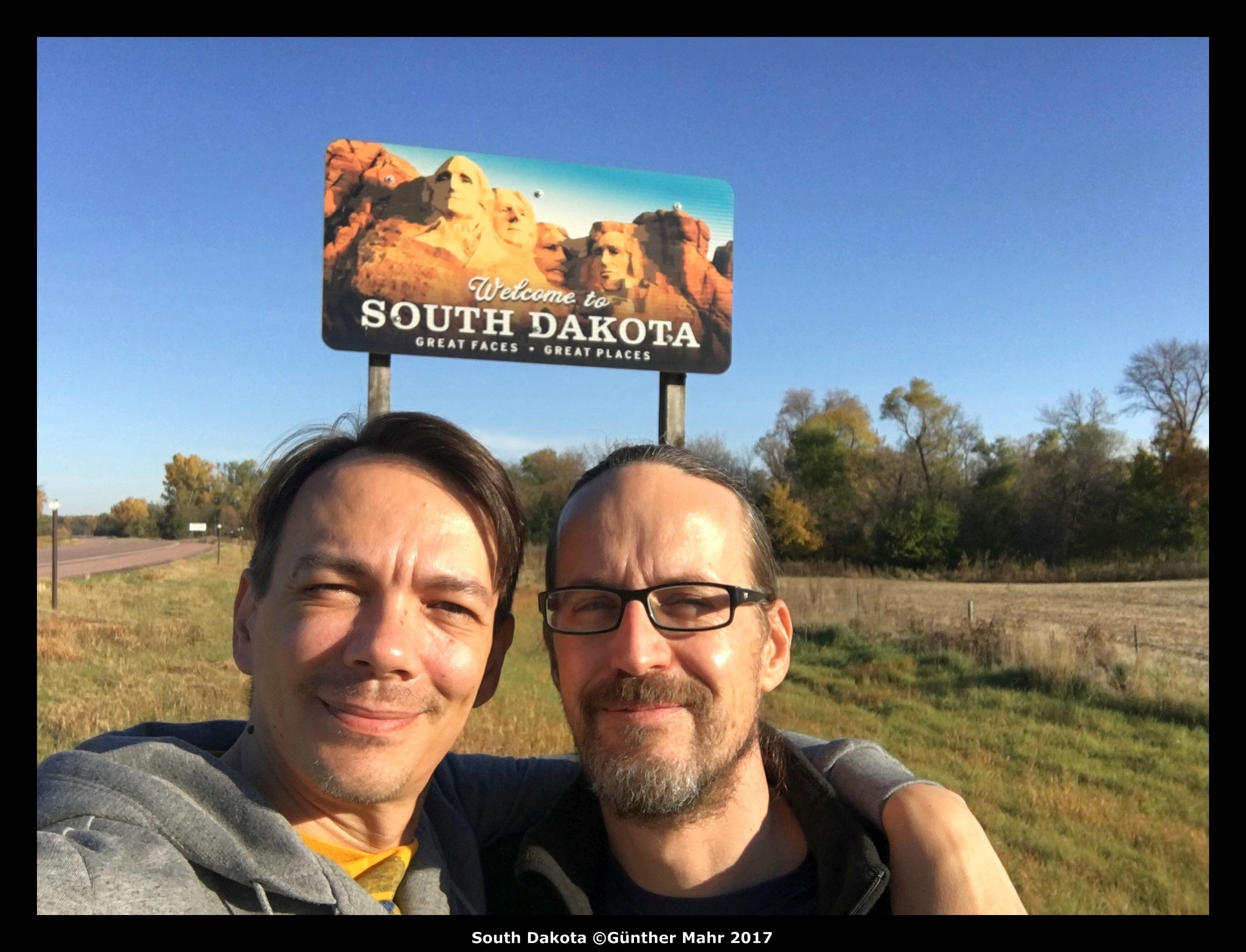 USA Road trip Quer Etappe South Dakota
