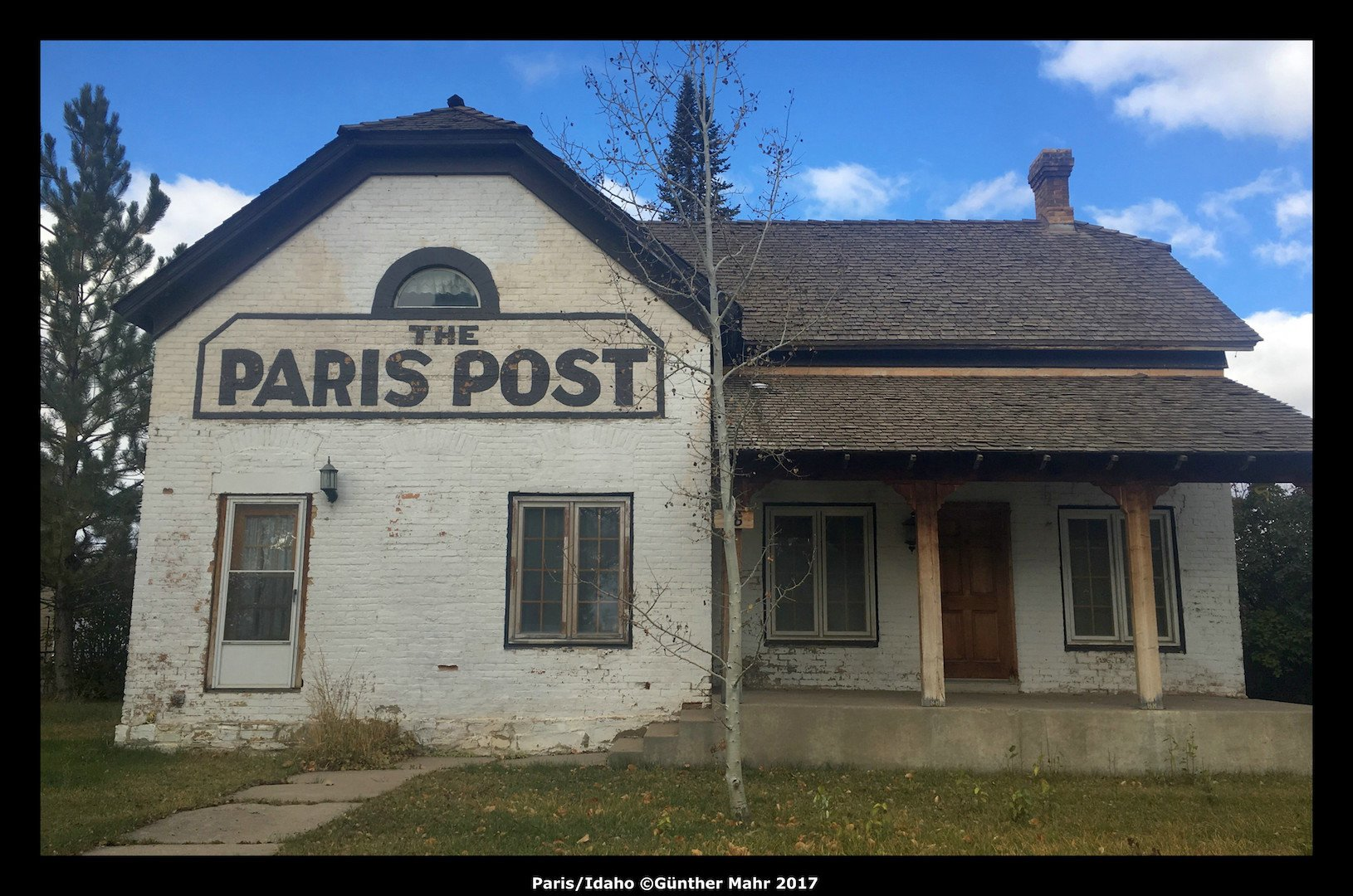 USA Road Trip Quer Etappen Idaho Paris Post