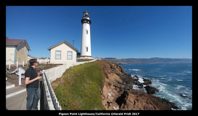 USA Road Trip Quer Etappen California Pigeon Point Lighthouse