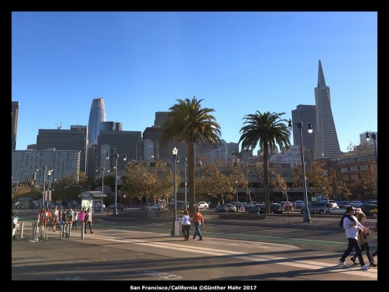 USA Road Trip Quer Etappen California San Fransisco