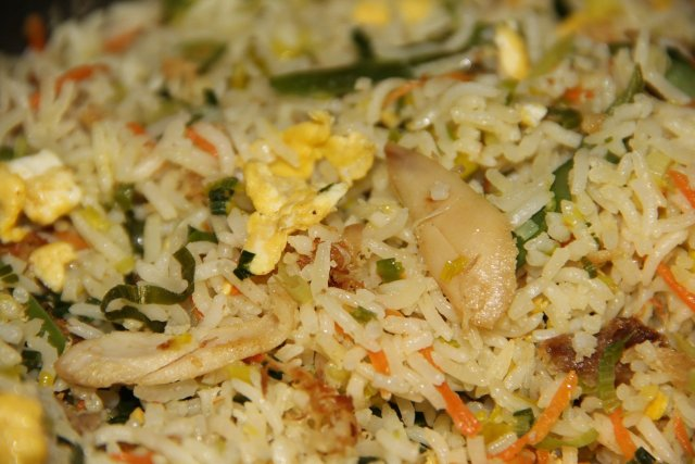 fried rice kreolisch