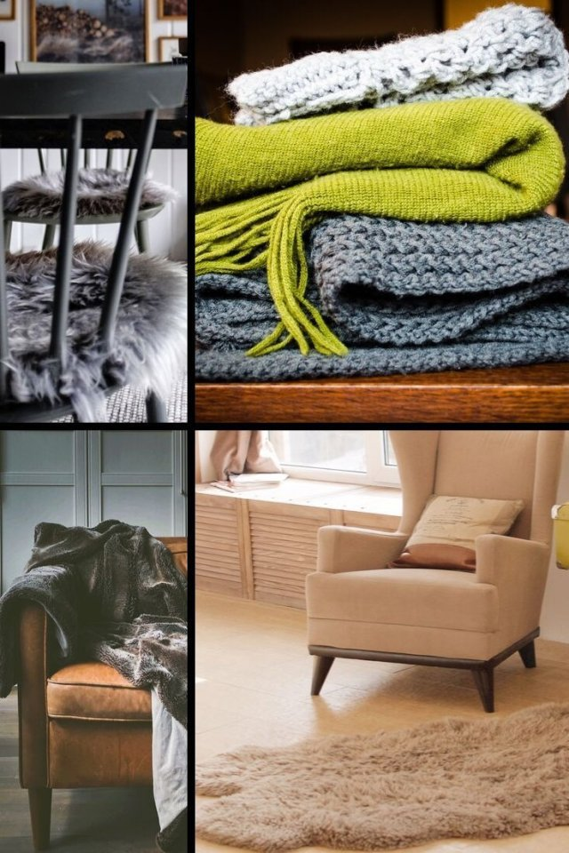 Collage of cozy decoration Ideas