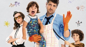 10 giorni senza mamma: … e ai figli ci pensano papà Carlo&co. (recensione)