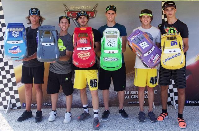 Favij e i riders di VR46