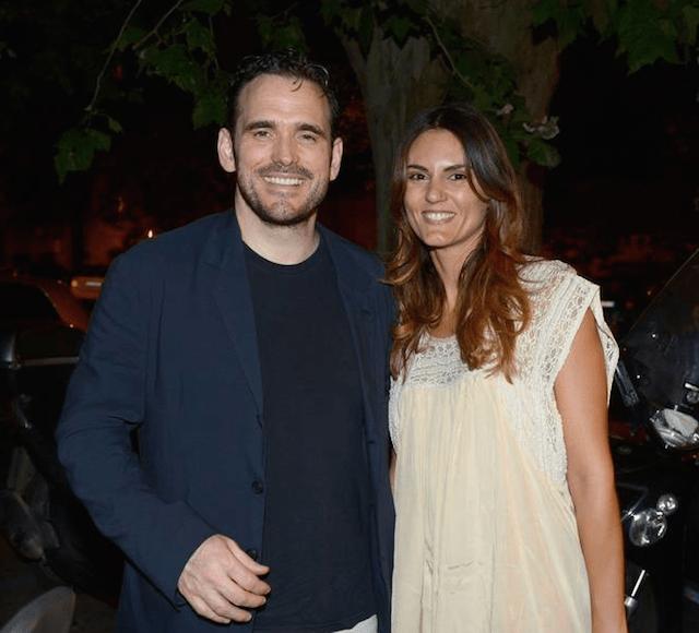Roberta Mastromichele e il compagno Matt Dillon