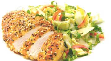 Petto di pollo al sesamo e lime: un secondo sano e leggero