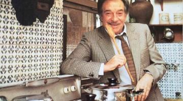 """Ugo Tognazzi e la sua """"Tognazza"""": """"L'attore? A volte mi sembra di farlo per hobby! Mangiare no, io mangio per vivere"""""""