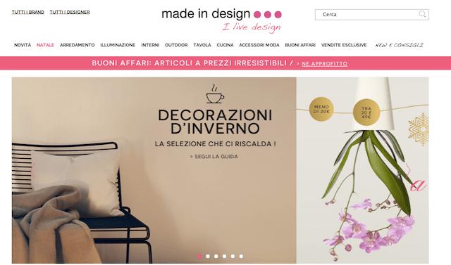I migliori siti di shopping on line dove comprare in for Siti design casa