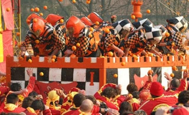 battaglia delle arance Ivrea
