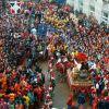 Carnevale di Ivrea 2015: la storica battaglia delle arance