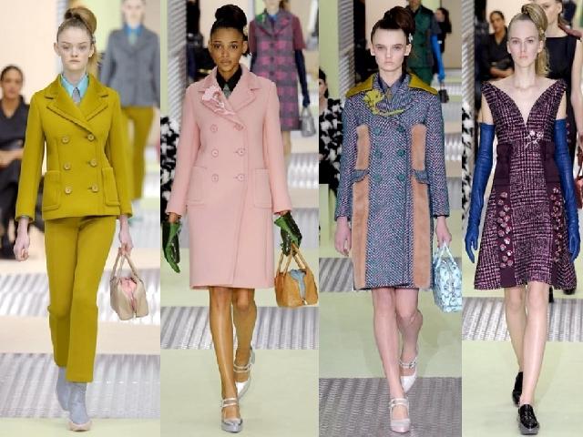 reputable site b02e7 26538 MFW 2015: la Primavera di Prada nella collezione donna ...