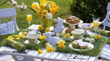 Come apparecchiare la tavola di Pasqua: tante idee facili da replicare