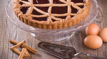Crostata con crema al cioccolato: un'idea riciclo per avanzi cioccolatosi