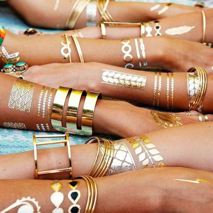 tatuaggi-oro-braccia