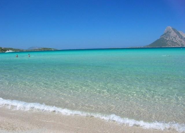 Spiaggia di Cala Brandichi (località San Teodoro, provincia di Olbia-Tempo, costa Nord-Orientale della Sardegna)