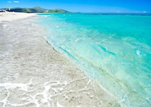 Spiaggia di Su Tiriarzu di Posada (costa Orientale della Sardegna)