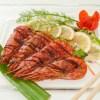 Piatti estivi: gamberoni e verdure in pinzimonio pronti in 30 minuti
